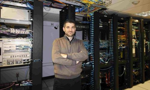 SLU Assistant Professor of Computer Science Flavio Esposito